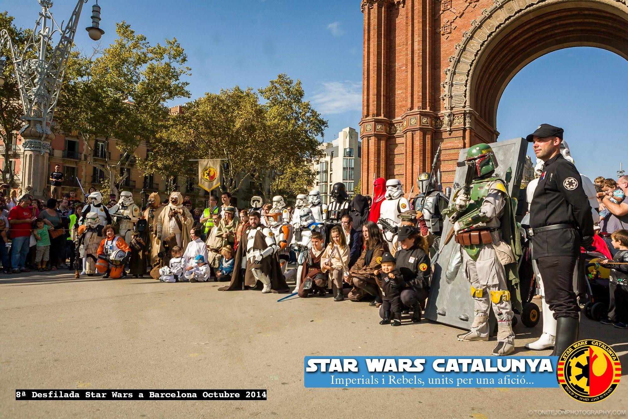 Desfile-Star-Wars-Catalunya-Arc-de-Triomf-2014